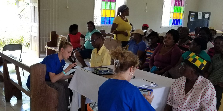 Optometrist Serves Campus Brings Aid To Jamaica Jordan Swope The